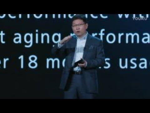 华为余承东CES2017演讲   Fuel Innovation with Passion   Huawei