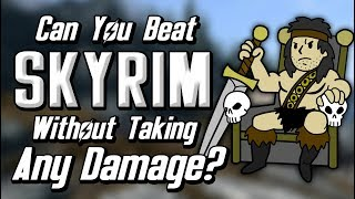 Can You Beat Skyrim Without Taking Any Damage?
