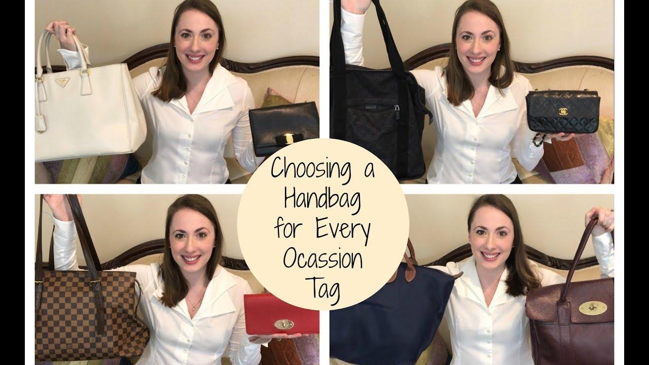 7ed5cc88a5d7 Choosing a Handbag For Every Occasion Tag