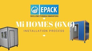 Mi Homes Construction Time Lapse: Quick and Easy to Install Portable Cabins