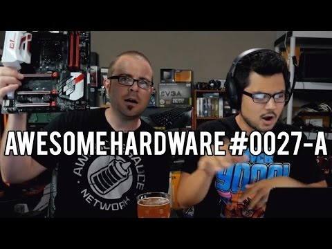 Awesome Hardware #0027-A: Fury Nano Benchmarks, CPU Cooler VS. Coffee Pot, Live Motherboard Rap!