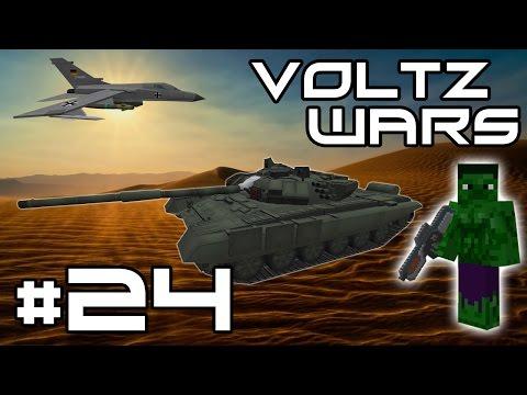 Minecraft Voltz Wars - Stinger Missiles and Diamond Dealing! #24