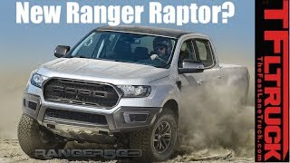 Is This The New Ford Ranger Raptor?