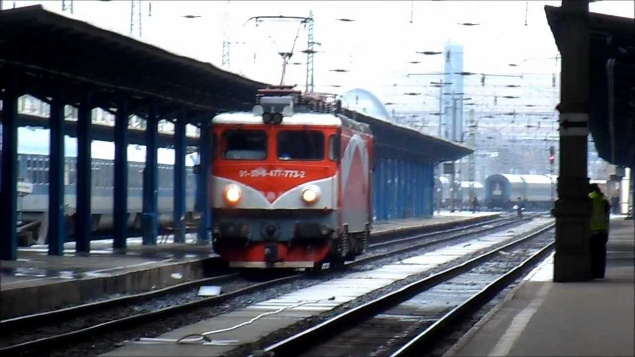 trenuri locomotiva cfr 477 bp keleti 03 02 2013 youtube