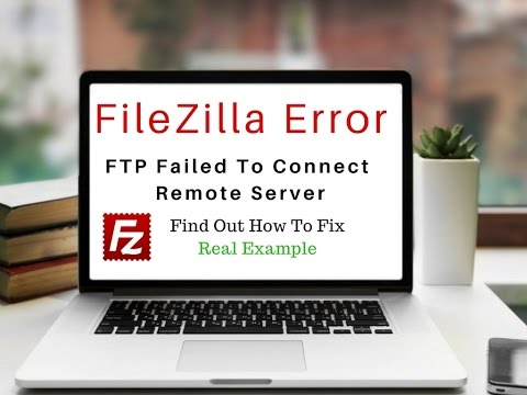 Filezilla FTP Client (220 Microsoft FTP Service) Fix Error Connect