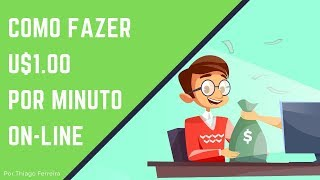 User Testing ➡ U$1,00 por minuto! Veja como Ganhar Dinheiro na internet testando sites em 2019! ☕💰