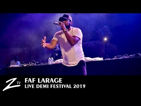 Youtube: Faf Larage – Ta meuf la caille – Demi Festival 2019 – LIVE HD