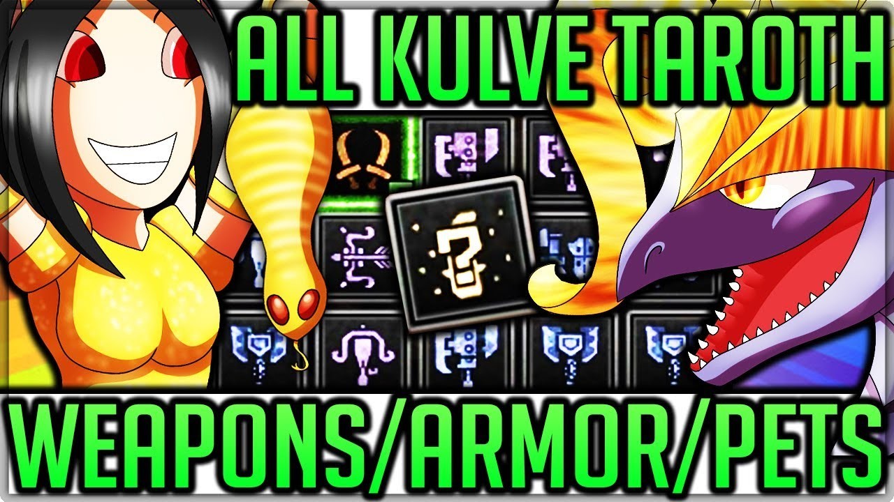 ALL Kulve Taroth Weapons Showcase/OP Armor Review + Pet Tsuchinoko Location  - Monster Hunter World!