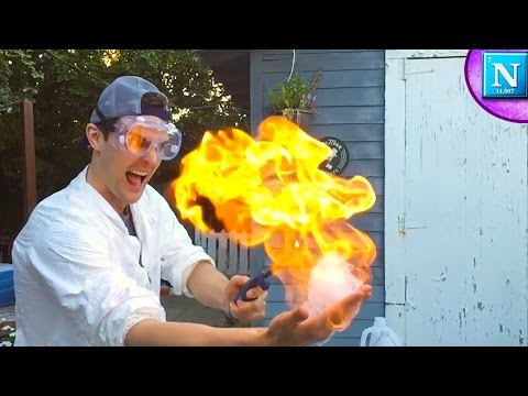 Fire Bubbles Experiment: Almost Burned My Face Off