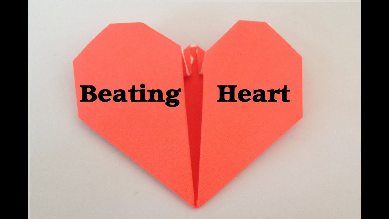 Origami Beating Heart Tutorial L Jasminestarler Youtube