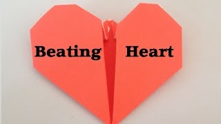 Origami BEATING HEART tutorial l JasmineStarler
