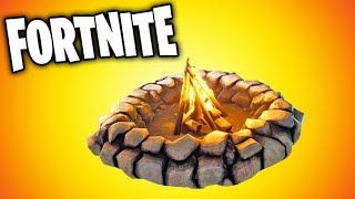 NEW LEGENDARY CAMPFIRE IN FORTNITE fortnite funny fails and best moments