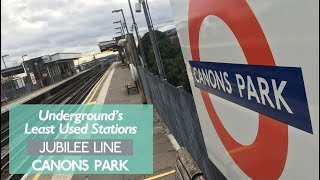 Canons Park - Least Used Jubilee Line Station