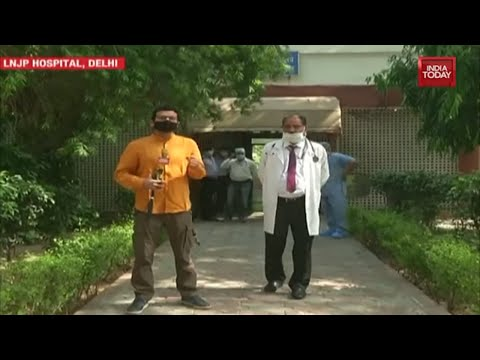 Hospital Warriors:Watch India Today's Exclusive Report From Inside Delhi's LNJP Hospital