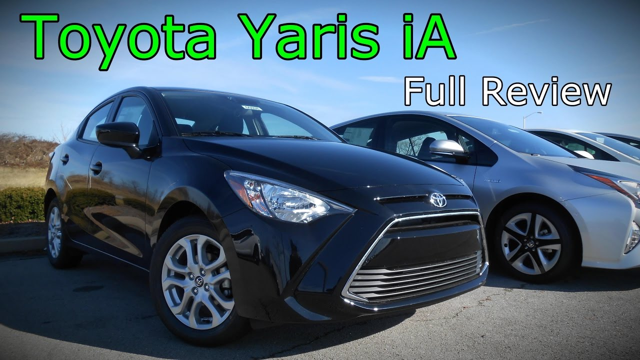 2017 toyota yaris ia full review youtube. Black Bedroom Furniture Sets. Home Design Ideas