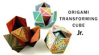 折り紙変身キューブJr. Origami Transforming Cube Jr
