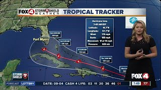 Hurricane Irma now a Category 5 -- 7:50am Tuesday update thumbnail