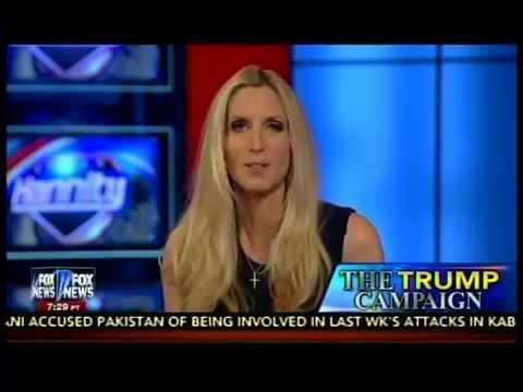 Ann Coulter defending Trump