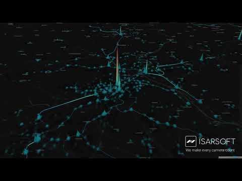 Isarsoft Public Transport Demand Visualization