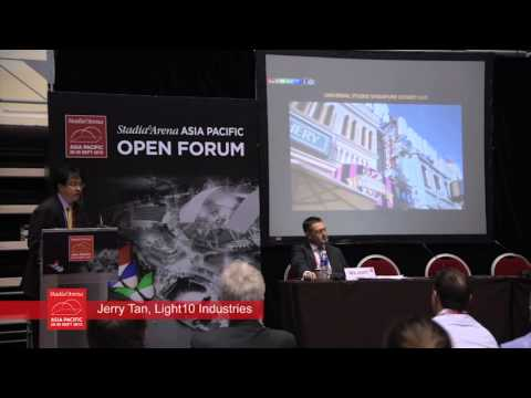 Stadia & Arena Asia Pacific 2015: Jerry Tan of Light10 Industries