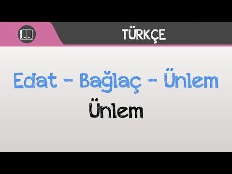 6. Sınıf Türkçe - Ünlem   2021