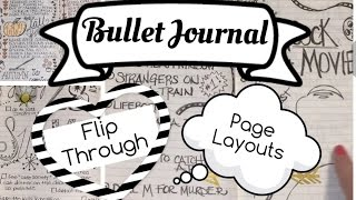 bullet journal flip through no 3   new layouts what worked what didn t   bujo flip thru   2016