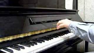 North and South theme solo piano