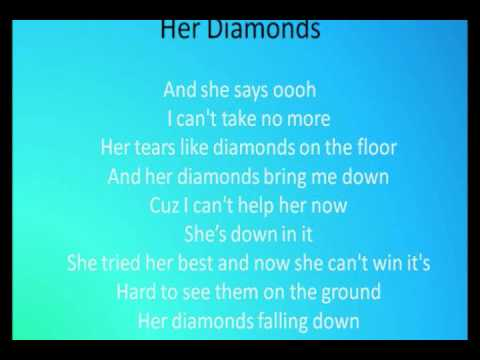 Her Diamonds - Rob Thomas WITH Lyrics