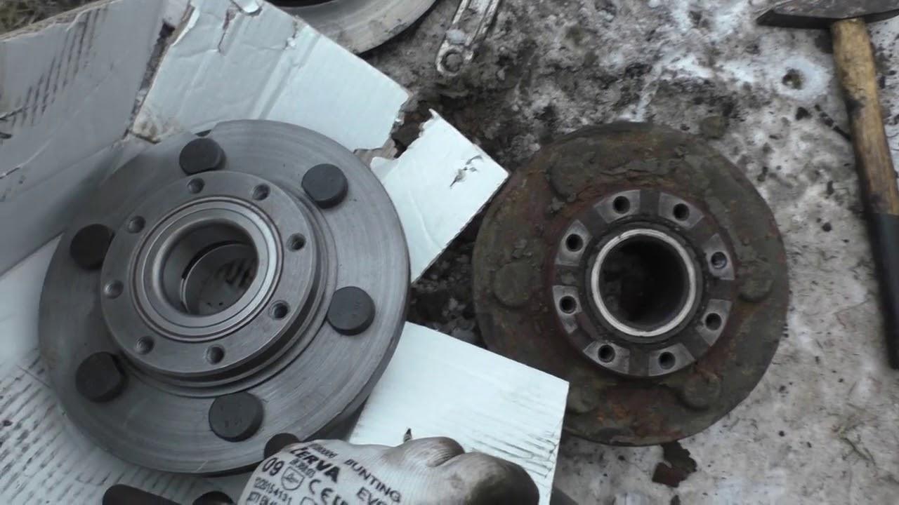 #51 Ремонт Iveco Daily (Ивеко Дейли) своими руками. Замена ступицы и тормозных дисков