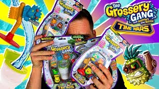 Grossery Gang Series 5 Time Wars UNBOXING 4 PACKS 28 GROSSERIES | Mega UNBOXING Grossery en Pe Toys