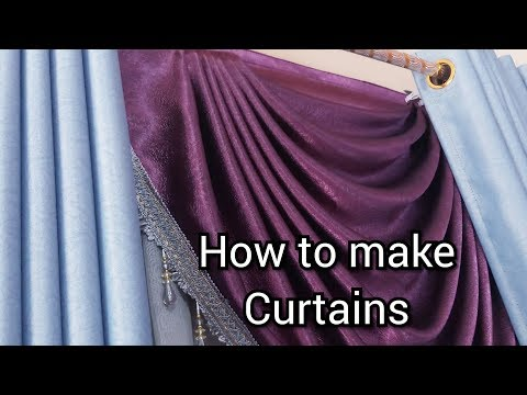 How To Make Curtains Swags