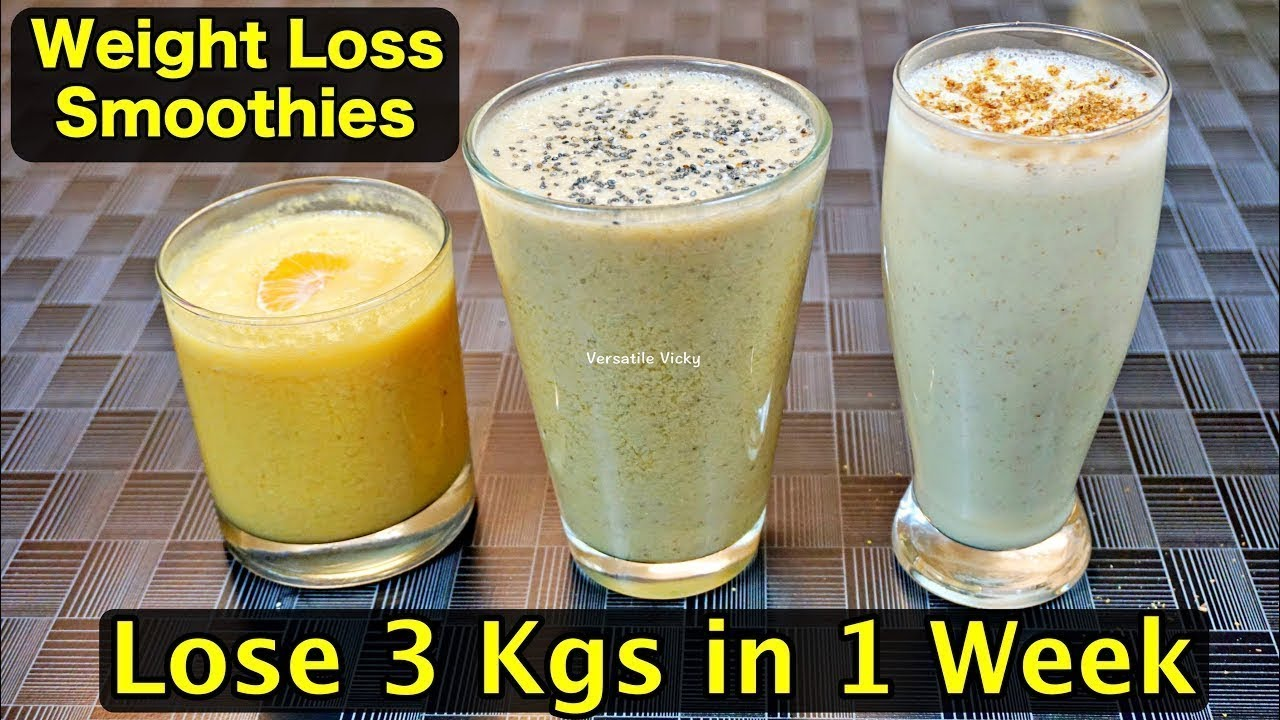 lose weight fast smoothie recipes