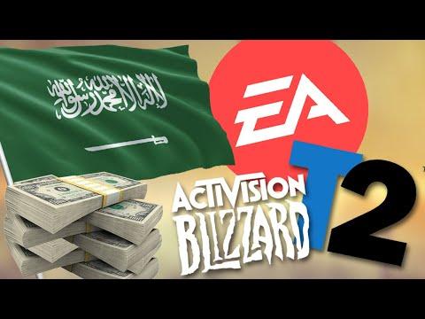 Saudi Arabia Invest $3.3 BILLION Into EA, Take Two & Blizzard