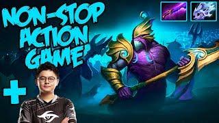 Non-Stop Action Dota - Gorgc Slardar with Midone vs Chappie AM