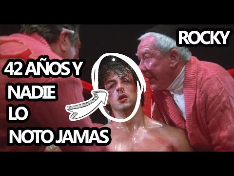 90 ERRORES y Curiosidades que no NOTASTE DE ROCKY 1976 (PELICULA BOXING SILVESTER STALLONE)