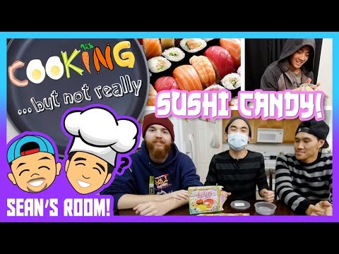 Thumbnail: Making Candy Sushi w/ Popin' Cooking! (Sean's Room)