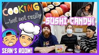 Making Candy Sushi W/ Popin' Cooking! (sean's Room)