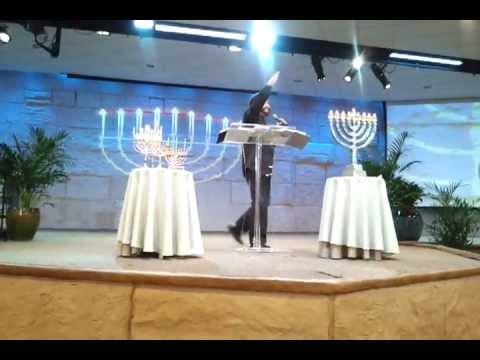 Rabbi Jonathan Cahn ~ Beth Israel Jerusalem Center ~ Wayne NJ ~ Chanukah Hanukkah #2  12-9-12
