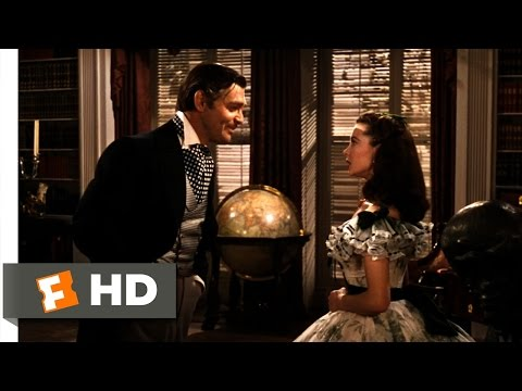 Gone with the Wind 16 Movie   Scarlett Meets Rhett 1939 HD