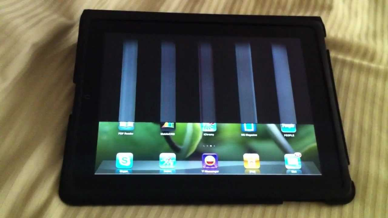 Ipad screen problem and solutions