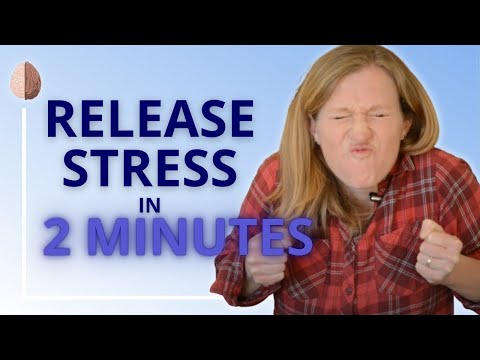 Stress Release (Fast)Anxiety Reduction Technique (Anxiety Skills #19)