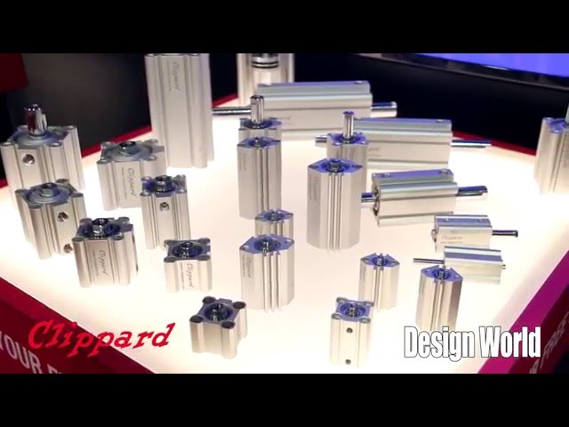 New extruded cylinders from Clippard