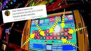 Apostando a los números de los suscriptores en la ruleta del casino | PKM