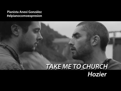 how to play take me to church on the piano