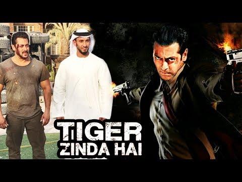 Salman Khan POSES With Dubai Leaders On Tiger Zinda Hai SETS