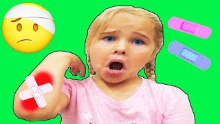 The Boo Boo Song |  Nursery Rhymes | Kids Songs Sweet Emily