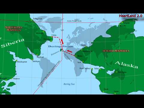 Тоннель между Россией и США по Дну Берингова Пролива между Аляской и Чукоткой.
