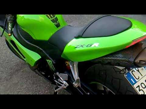 My Kawasaki Ninja 636 Zx 6r 2006 Youtube