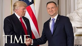 President Trump Meets With Polish President Andrzej Duda At The White House | TIME