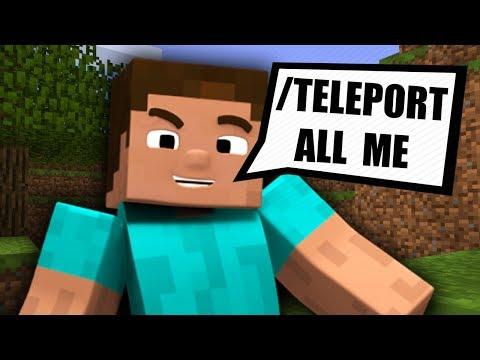 Minecraft Server Moderator Commands - Minecraft command block spieler teleportieren